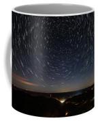 Star Trails Over Whitesburg Coffee Mug