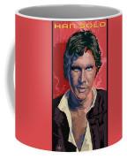 Star Wars Han Solo Pop Art Portrait Coffee Mug