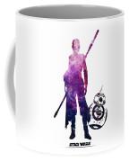 Star Wars Rey And Bb-8 Coffee Mug