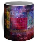 Stardust Periodic Table Coffee Mug