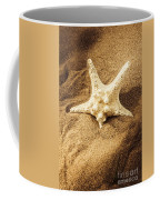 Starfish In Sand Coffee Mug
