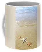 Starfish On Beach Coffee Mug