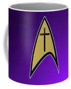 Starfleet Pastor  Coffee Mug