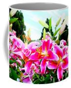 Stargazer Lilies #1 Coffee Mug