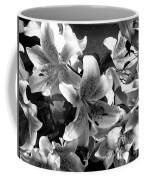 Stargazer Lilies Bw Coffee Mug