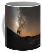 Stargazers Under The Night Sky Coffee Mug