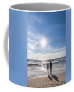 Staring At The Sun Coffee Mug