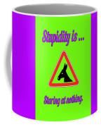 Staring Bigstock Donkey 171252860 Coffee Mug