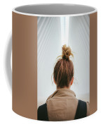 Staring Into The Oculus At The World Trade Center Coffee Mug