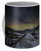 Starry Night In Iceland Coffee Mug