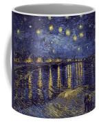 Starry Night Over The Rhone Coffee Mug
