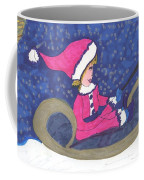 Starry Sleigh Ride Coffee Mug