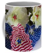 Stars And Stripes Bouquet Coffee Mug