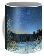 Stars Over The New Hampshire White Mountains Coffee Mug