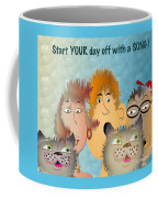 Start Off Your Day With A Song Coffee Mug