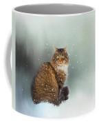 Starting To Snow Again Coffee Mug