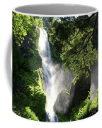 Starvation Creek Falls In September  Coffee Mug
