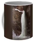 Starved Rock Icefall Coffee Mug