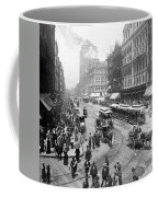 State Street - Chicago Illinois - C 1893 Coffee Mug