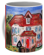 Stately City House Coffee Mug