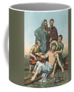 Station Xi Jesus Is Nailed To The Cross Coffee Mug