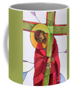 Stations Of The Cross - 02 Jesus Accepts The Cross - Mmjcs Coffee Mug