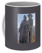 Statuary Dedicated To The American Indian Coffee Mug