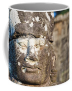 Statue At Angkor Thom Coffee Mug