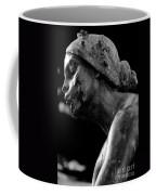 Statue In Black And White Coffee Mug