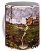 Statue Of A Zombie 2 Coffee Mug