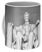 Statue Of Abraham Lincoln - Lincoln Memorial #4 Coffee Mug