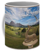 Statue Of Deer 3 Coffee Mug