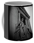 Statue Of Justice At The Courthouse In Memphis Tennessee Coffee Mug