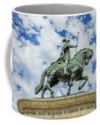 Statue Of King John I Lisbon Coffee Mug
