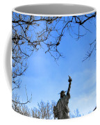 Statue Of Liberty Back View  Coffee Mug
