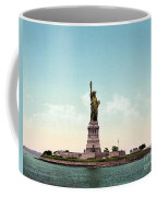 Statue Of Liberty, C1905 Coffee Mug