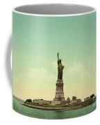 Statue Of Liberty, New York Harbor Coffee Mug