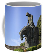 Statue Of St Francis Of Assisi  Coffee Mug