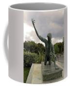 Statue Of Woman Crawling On Marble Street Coffee Mug