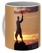 Statue On Cemerty Ridge Coffee Mug