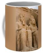 Statues At Abu Simbel Coffee Mug