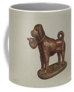 Statuette Of A Dog Coffee Mug