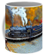 Steam Engine Tilt Shift Coffee Mug