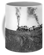Steam Engines Pulling A Train Coffee Mug