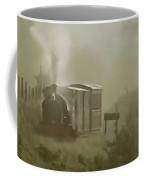 Steam Train In The Mist Coffee Mug