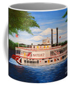 Steamboat On The Mississippi Coffee Mug