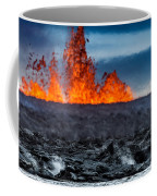 Steaming Lava And Plumes Coffee Mug