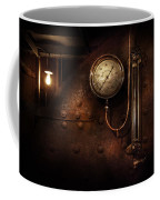 Steampunk - Boiler Gauge Coffee Mug by Mike Savad