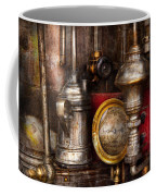 Steampunk - Needs Oil Coffee Mug by Mike Savad