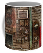 Steampunk - The Future  Coffee Mug by Mike Savad